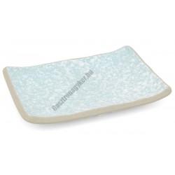 Acquac négyszögletes tányér, 17×12 cm, kőporcelán