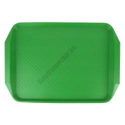 Md tálca méret 40×30 cm fűzöld polipropilén, csúszásgátlós felülettel