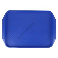 Md tálca méret 40×30 cm kék polipropilén, csúszásgátlós felülettel