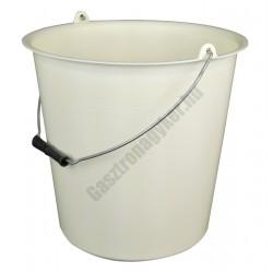 Vödör 12 liter 29×30 cm, fémfüllel