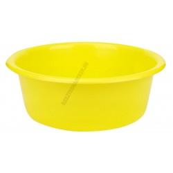 Peremes tál 30 cm 5 liter sárga