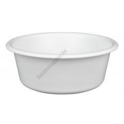 Peremes tál 20 cm 1,5 liter, fehér, műanyag