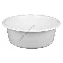 Peremes tál 30 cm 5 liter, fehér, műanyag