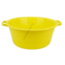 Peremfüles tál 36 cm 9 liter sárga