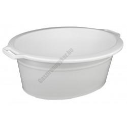 Peremes ováltál 13 liter, fehér, műanyag