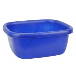 Szögletes tál 34,5×39,5×16 cm 9,5 liter kék