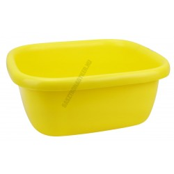 Szögletes tál 34,5×39,5×16 cm 9,5 liter sárga