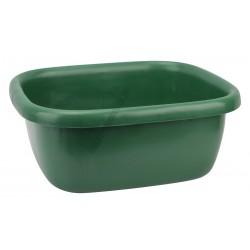 Szögletes tál 34,5×39,5×16 cm 9,5 liter zöld