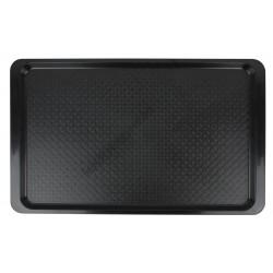 Tálca GN 1/1 méret (32,5×53 cm) műanyag fekete színű
