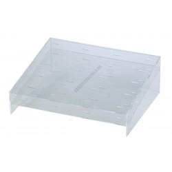 Jégkrémállvány műanyag pálcikás jégkrémhez, 20 db-os, plexi