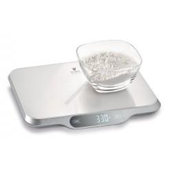 Digitális konyhamérleg, 15 kg méréshatár, 26x31 cm