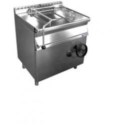 Gázüzemű billenőserpenyő 80 liter Inox GM-GBS80.98 Inox
