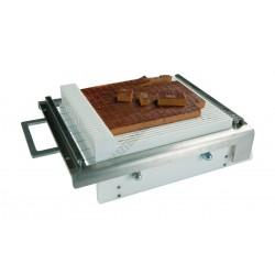 Mini csokoládé vágógép, szimpla, Easy System, 15 mm vágókeret