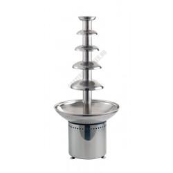 Csokoládészökőkút, 380x800 mm, 3,5 l, rozsdamentes