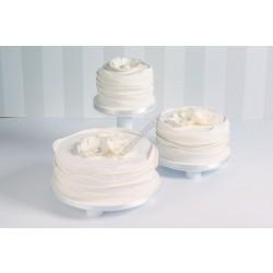 Tortaállvány, 3 részes, kör