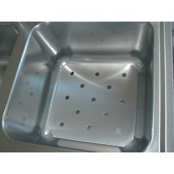 Csepegtető tálca 400x400 mm medenceméretű mosogatóhoz Emax-3602
