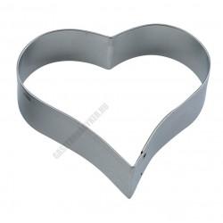 Tésztakiszúró csomag, szív, 7 méret, rozsdamentes