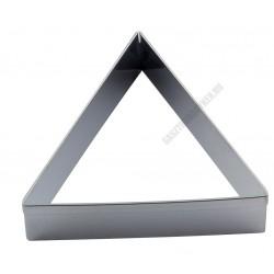 Tésztakiszúró csomag, háromszög, 7 méret, rozsdamentes