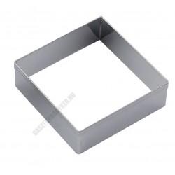 Tésztakiszúró csomag, négyzet, 7 méret, rozsdamentes