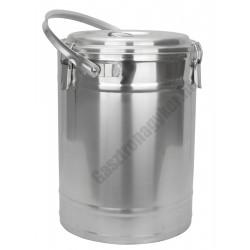 Badella ételszállító 20 liter duplafalú 30x41 cm
