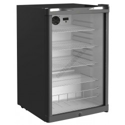 Üvegajtós hűtővitrin, nettó 115 liter, DKS-142