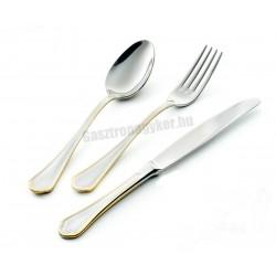 Domus Oro süteményes kés arany színű dekorral, 3 mm