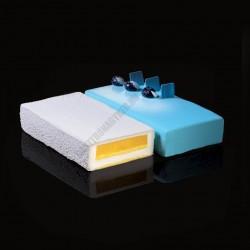 Cake Idea 2 részes sütőkeret, téglalap, rozsdamentes