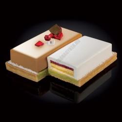 Cake Idea 5 részes sütőkeret, téglalap, rozsdamentes