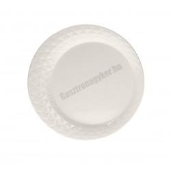 Diamante tálaló tányér, 32 cm, porcelán