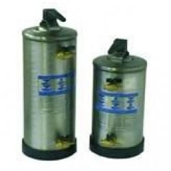 Vízlágyító berendezés, 12 l, rozsdamentes kivitel, ioncserélő gyantával, manuális regenerálás
