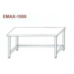 Munkaasztal lábösszekötővel Emax-1000 KR 1300×700×850