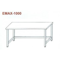 Munkaasztal lábösszekötővel Emax-1000 KR 1400×700×850