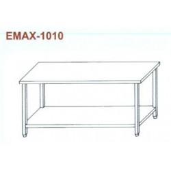 Munkaasztal alsó polccal Emax-1010 KR 1100×700×850