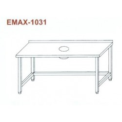Munkaasztal Emax-1031 KR 1800×700×850