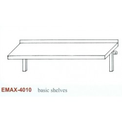 Falipolc sima Emax-4010 KR 1000×300