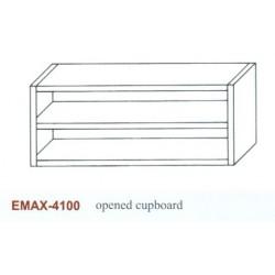 Faliszekrény ajtó nélkül Emax-4100 KR 1600x360x650