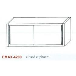 Faliszekrény ajtóval Emax-4200 KR 1600×360×650