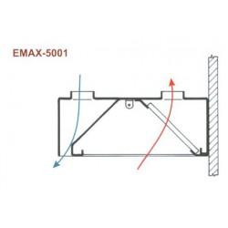 Elszívóernyő Emax-5001 KR 2000x1200x400