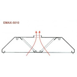 Elszívóernyő Emax-5010 KR 1600x2400x400