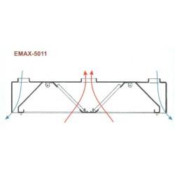 Elszívóernyő Emax-5011 KR 2000x2400x400