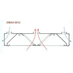 Elszívóernyő Emax-5012 KR 1000×2400×400