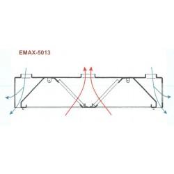 Elszívóernyő Emax-5013 KR 2000x2400x400