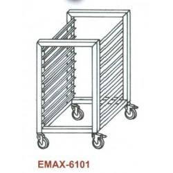 Tepsitartó állvány Emax-6101 KR 7×GN 2/1 600×660×760