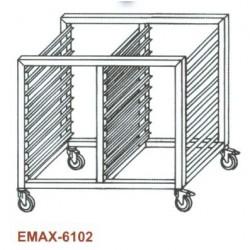Tepsitartó állvány Emax-6102 KR 14×GN 2/1 1170×660×760