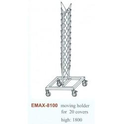 Fedőtartó gördíthető Emax-8100, (20dbfedő), Magasság:1800