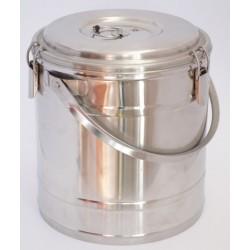 Badella, ételszállító, 15 liter, duplafalú, 30×32 cm