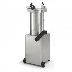 Kolbásztöltő, hidraulikus, 25 liter, Talsa