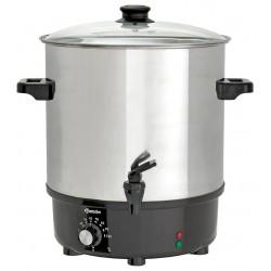 Forraltbor (forró ital) adagoló 25 literes, rejtett fűtőszálas
