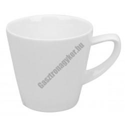 Infinity kávéscsésze 80 ml, négyszögletes, porcelán