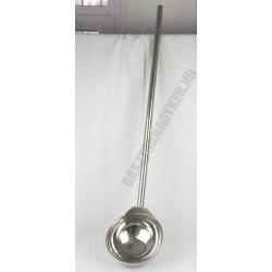 Üstmerőkanál, 3 liter, perforált, rozsdamentes 25×120 cm